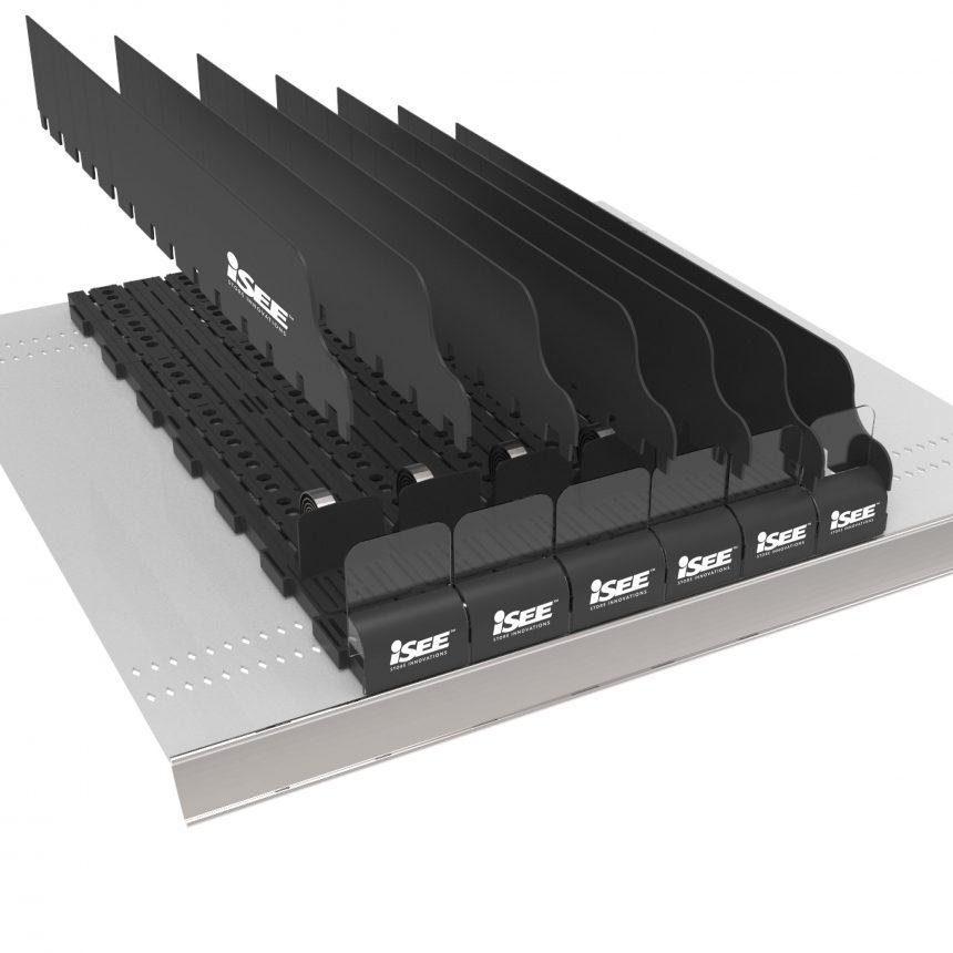 Modular PushGlide Shelf Management System