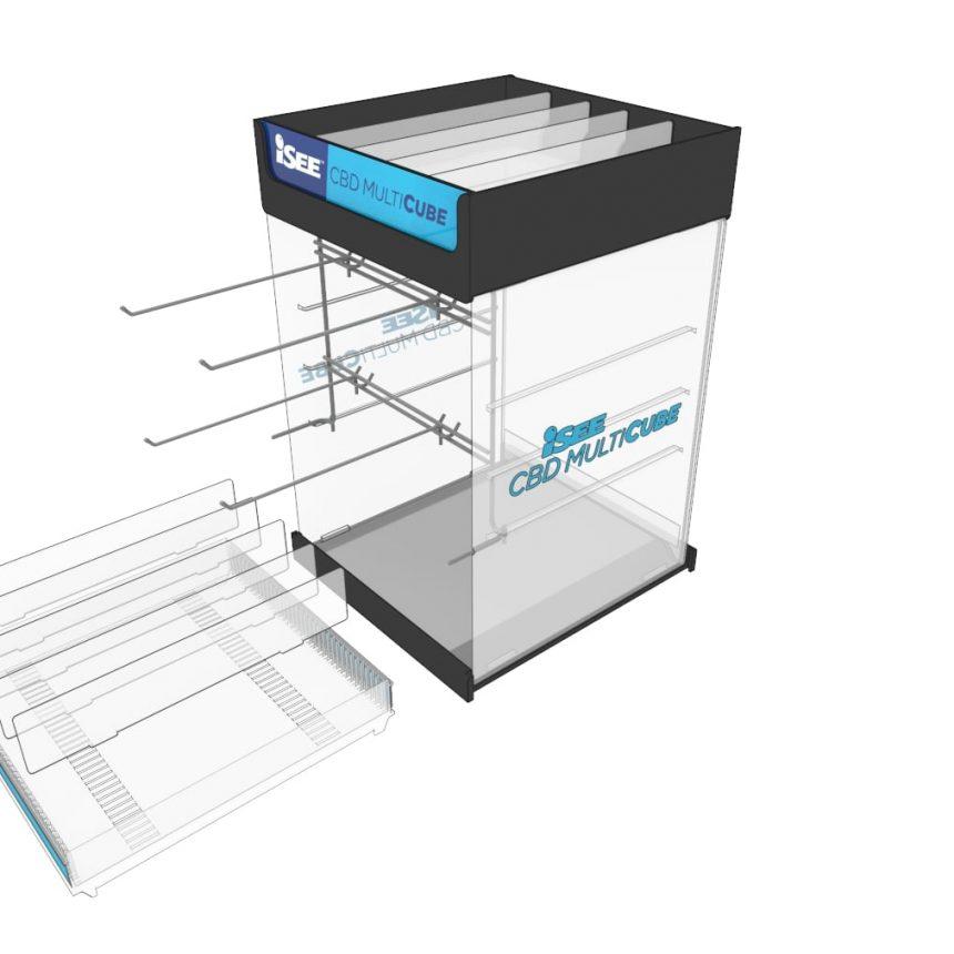 Hemp CBD product display