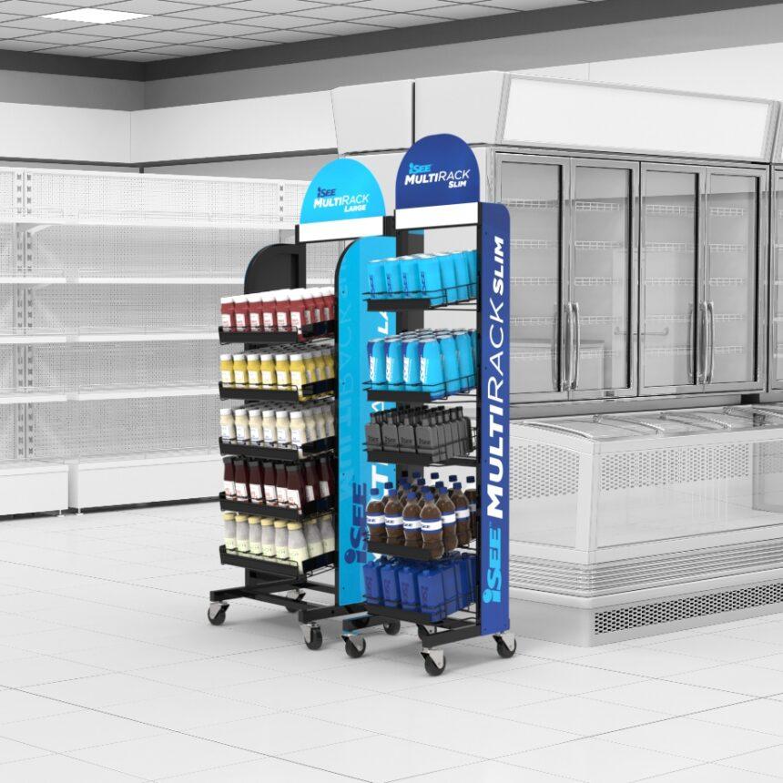 floor merchandising rack